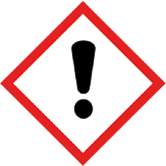 pictogramme de danger toxique irritant